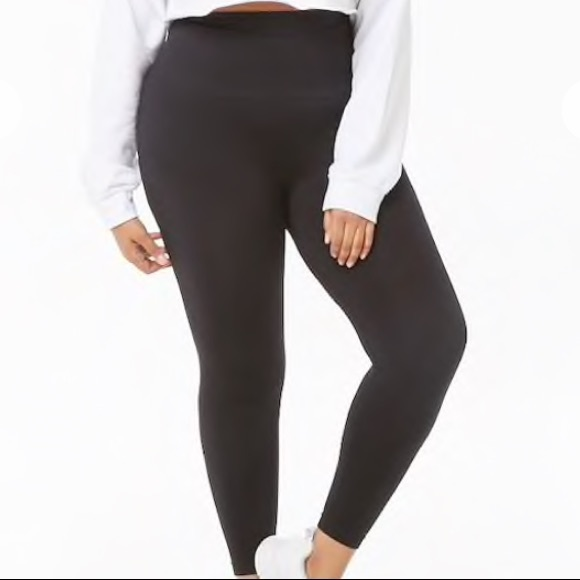 48ad0c5cb3 Forever 21 Pants | Plus Size Control Top Leggings | Poshmark